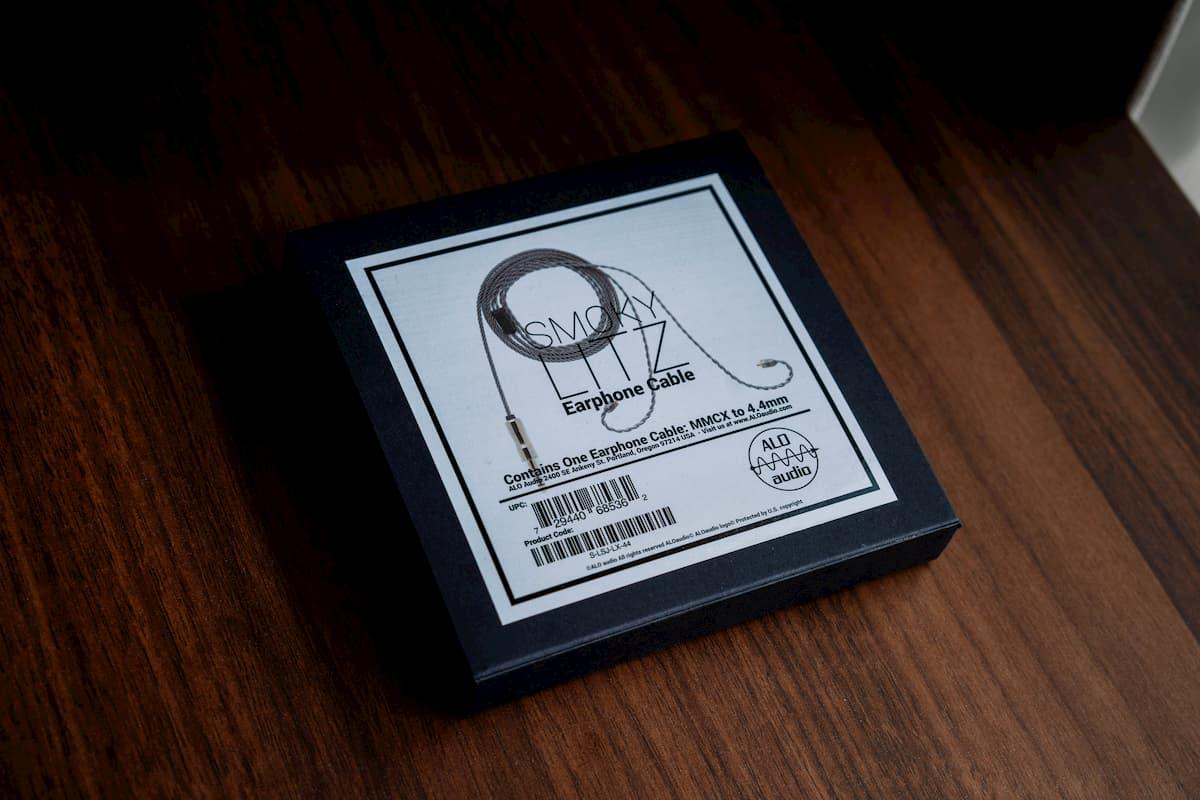 【初バランス接続!】ALO Audio Smoky Litz Cable 4.4mmレビュー